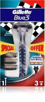 Gillette Blue 3 aparat de ras rezerva lama 3 pc