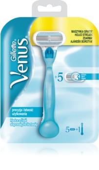 Gillette Venus Classic rasoio + lame di ricambio