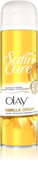 Gillette Satin Care Olay Vanilla Dream gel de rasage