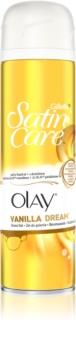 Gillette Satin Care Olay Vanilla Dream gel za britje