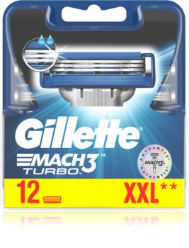 Gillette Mach3 Turbo Replacement Blades