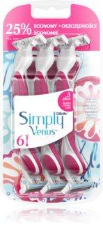 Gillette Venus Simply 3 Plus rasoirs jetables 6 pcs