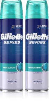 Gillette Series Protection gel za britje 3v1