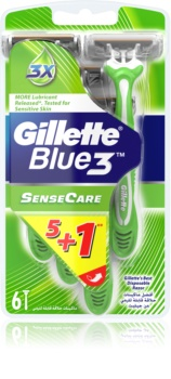 Gillette Blue 3 Sense Care Wegwerp Scheermessen