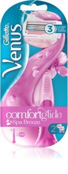 Gillette Venus ComfortGlide Breeze holicí strojek + 2 náhradní hlavice