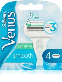 Gillette Venus Sensitive Smooth Replacement Blades 4 pcs