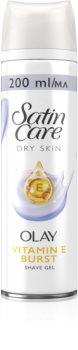 Gillette Satin Care Olay Violet Swirl gel de barbear para mulheres