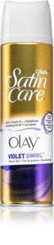 Gillette Satin Care Olay Violet Swirl τζελ ξυρίσματος για γυναίκες