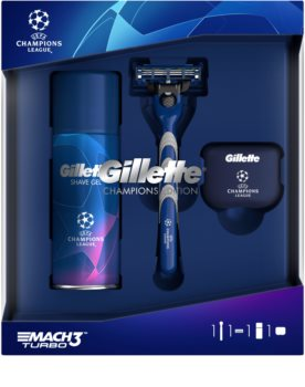 Gillette Mach3 Turbo Champions League Gift Set (for Men)
