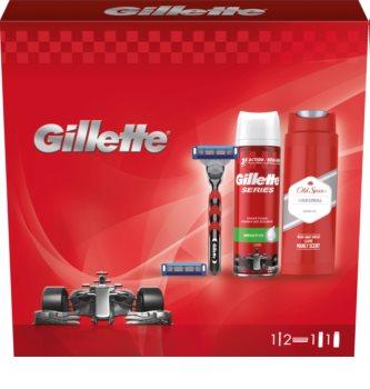 Gillette Mach3 Turbo Gift Set (for Men)