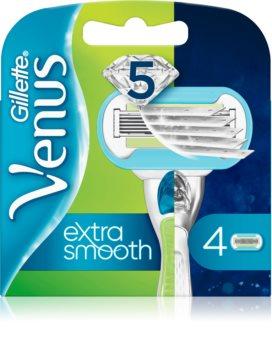 Gillette Venus Extra Smooth náhradné žiletky