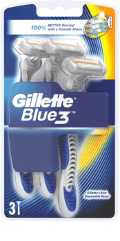Gillette Blue 3 lâminas descartáveis