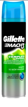 Gillette Mach3 Complete Defense гел за бръснене