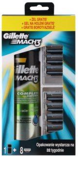 Gillette Mach3 lote cosmético IV. para hombre