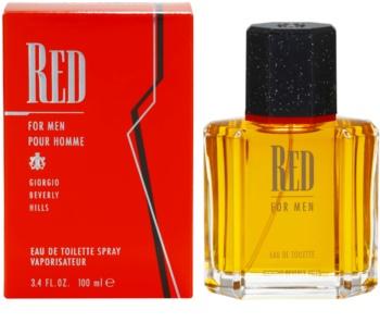 Giorgio Beverly Hills Red Eau de Toilette pentru bărbați