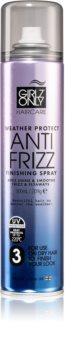 Girlz Only Anti Frizz spray a végső hajformázásra