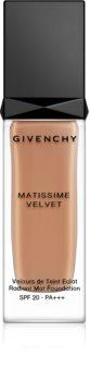 Givenchy Matissime Velvet Long-Lasting Mattifying Foundation SPF 20