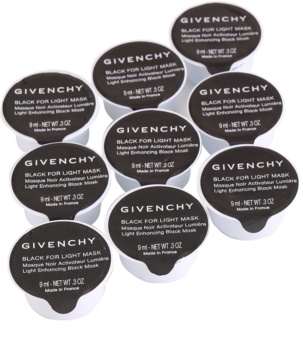 Givenchy Black for Light Mask conjunto de máscaras faciais iluminadoras 9 pçs