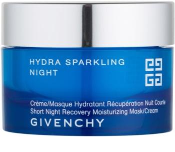 Givenchy Hydra Sparkling máscara e creme hidratante de noite 2 em 1