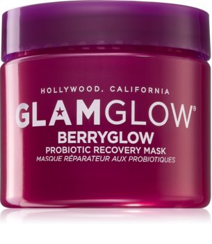 Glamglow Berryglow Probiotic Recovery Mask maseczka nawilżająca i rozświetlająca z probiotykami