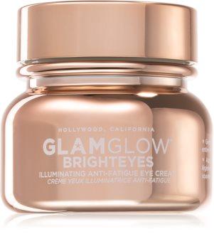Glamglow Brighteyes Illuminating Anti-fatique Eye Cream bőrélénkítő szemkrém duzzanatok és sötét karikák ellen