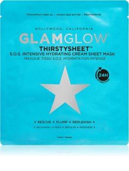 Glamglow Thirstysheet maseczka płócienna o działaniu nawilżającym