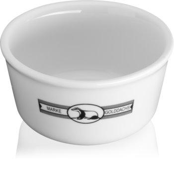 Golddachs Bowl Porzellanschale für Rasierutensilien