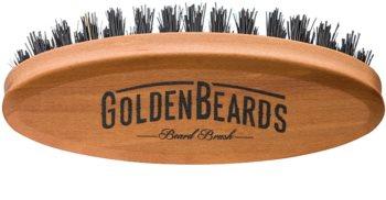 Golden Beards Accessories perie de voiaj pentru barbă