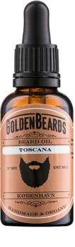 Golden Beards Toscana óleo para barba