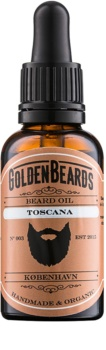 Golden Beards Toscana olio da barba