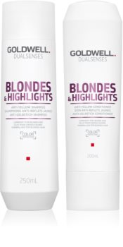 Goldwell Dualsenses Blondes & Highlights kosmetická sada (neutralizující žluté tóny)