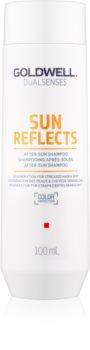 Goldwell Dualsenses Sun Reflects čisticí a vyživující šampon pro vlasy namáhané sluncem