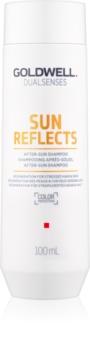 Goldwell Dualsenses Sun Reflects очищуючий та поживний шампунь для волосся пошкодженого сонцем