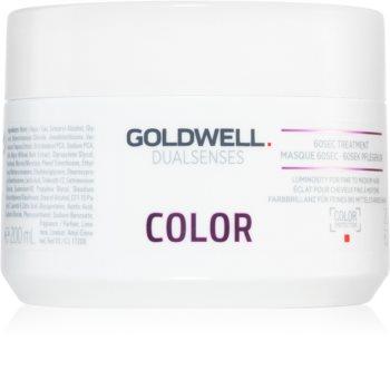 Goldwell Dualsenses Color Elvyttävä Hiusnaamio Normaaleille ja Kevyesti Värjätyille Hiuksille