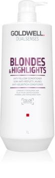 Goldwell Dualsenses Blondes & Highlights conditioner voor blond haar neutraliseert gele Tinten