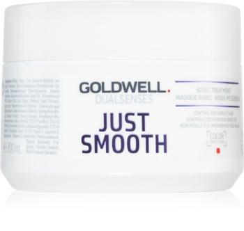 Goldwell Dualsenses Just Smooth kisimító maszk a rakoncátlan hajra