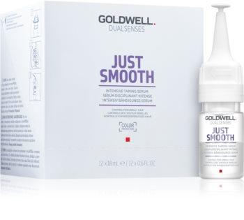 Goldwell Dualsenses Just Smooth Gladmakende Serum  voor Onhandelbaar en Pluizig Haar