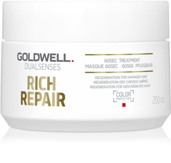 Goldwell Dualsenses Rich Repair masca pentru păr uscat și deteriorat