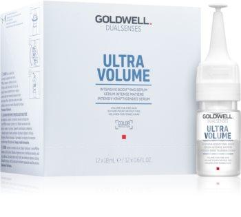 Goldwell Dualsenses Ultra Volume ser fara clatire pentru par fin