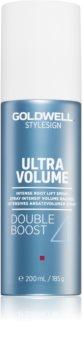 Goldwell StyleSign Ultra Volume spray para o levantamento do cabelo desde a raiz