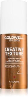 Goldwell StyleSign Creative Texture Roughman 4 pasta para dar definición al peinado matificante para cabello