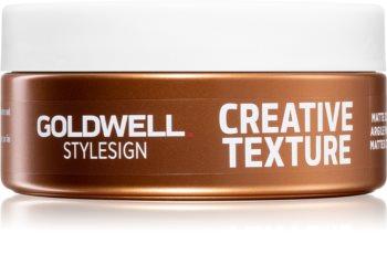 Goldwell StyleSign Creative Texture Matte Rebel Оформяща матираща глина за коса