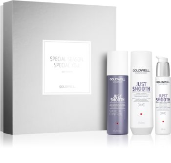 Goldwell Dualsenses Just Smooth Cosmetic Set I. (for Smoothing and Nourishing Dry and Unruly Hair) for Women
