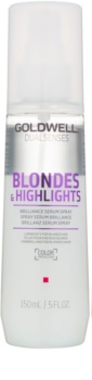 Goldwell Dualsenses Blondes & Highlights serum brez spiranja v pršilu za blond lase in lase s prameni