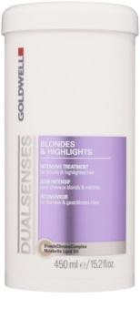 Goldwell Dualsenses Blondes & Highlights cuidado intensivo para cabello rubio y con mechas