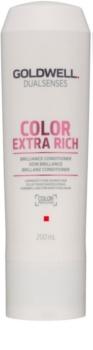 Goldwell Dualsenses Color Extra Rich acondicionador para proteger el color