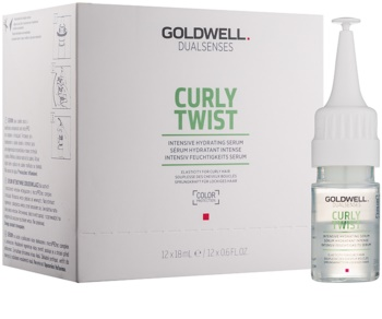 Goldwell Dualsenses Curly Twist Intensive Moisturizing Serum For Wavy Hair And Permanent Waves