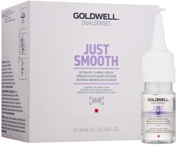 Goldwell Dualsenses Just Smooth serum wygładzające do włosów nieposłusznych i puszących się