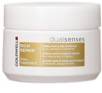 Goldwell Dualsenses Rich Repair regenerační maska pro suché a poškozené vlasy