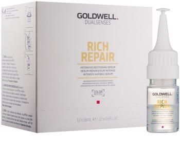 Goldwell Dualsenses Rich Repair Intensiv föryngrande serum för torrt och skadat hår